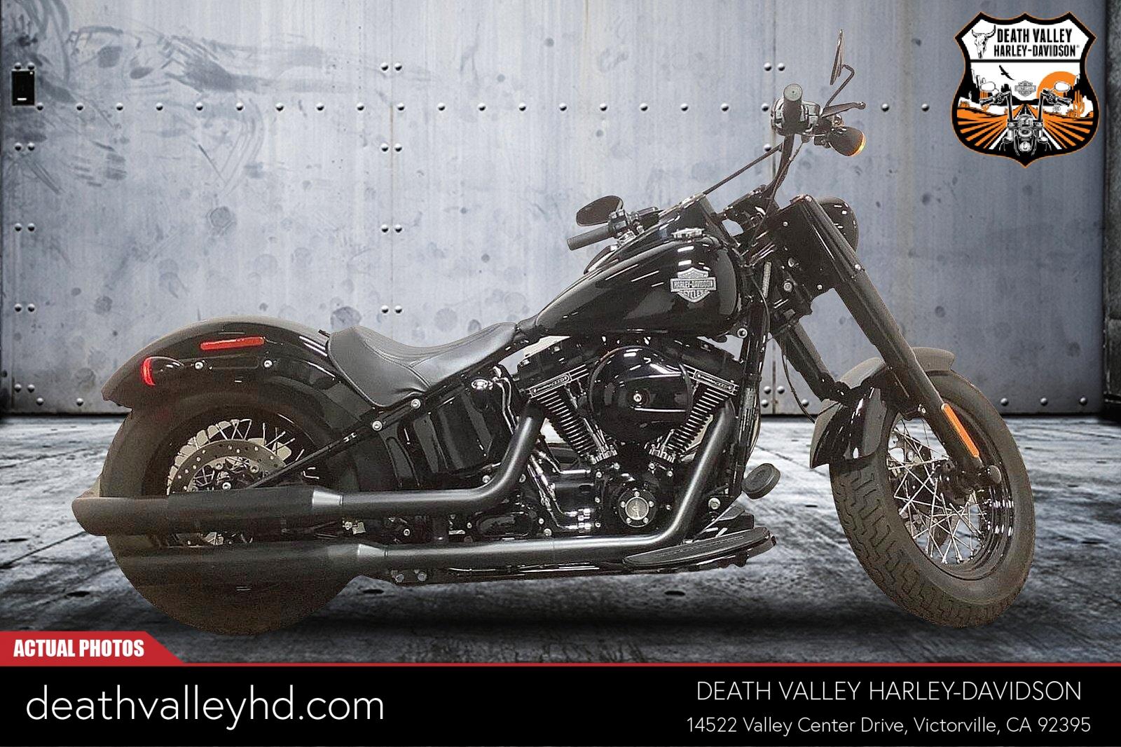 2017 Harley-Davidson Softail Slim [16]