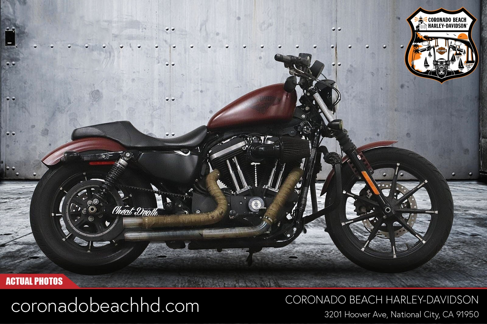 2017 Harley-Davidson Sportster 883 Iron [9]