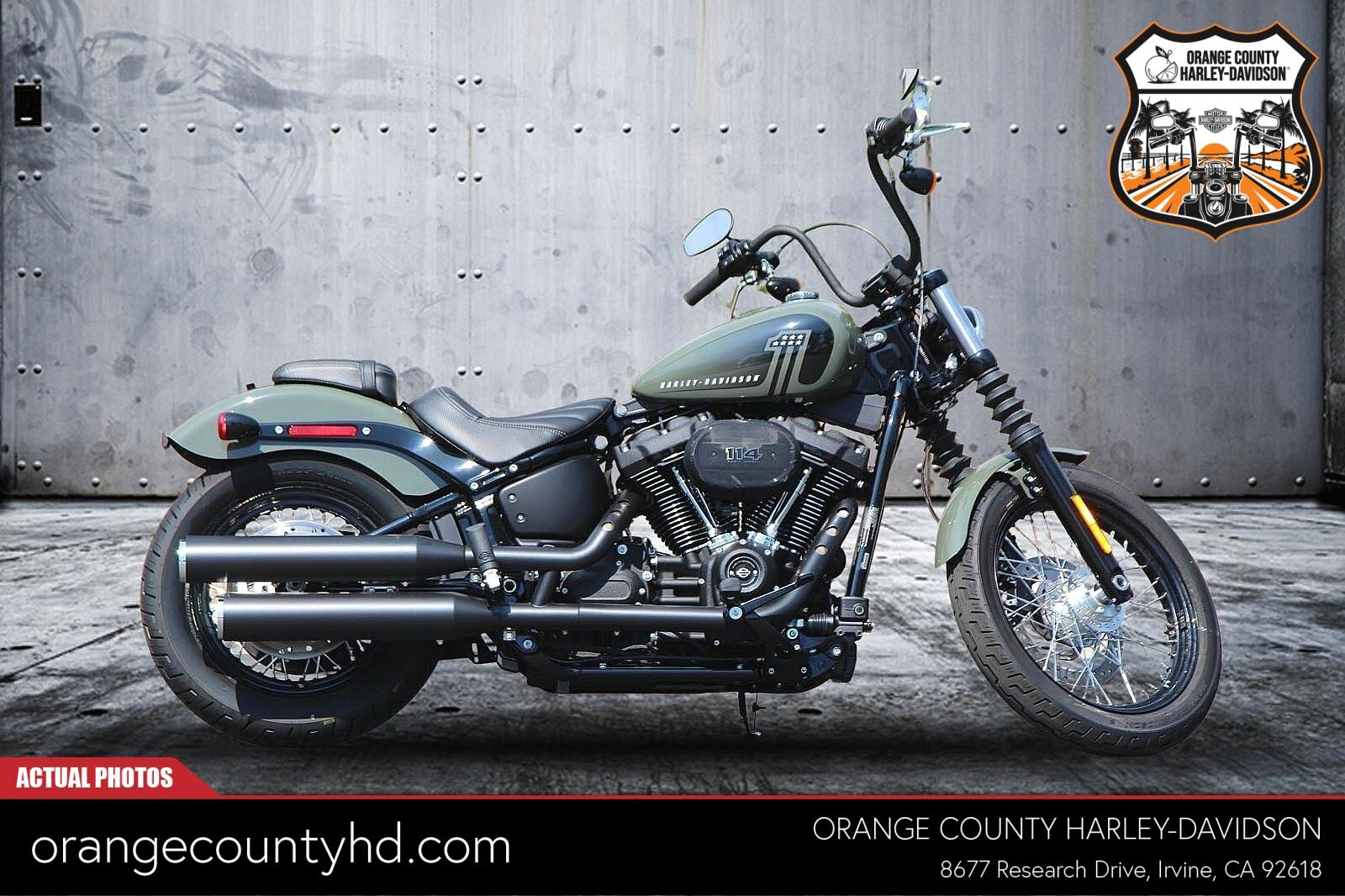 2021 Harley-Davidson Street Bob 114 [5]