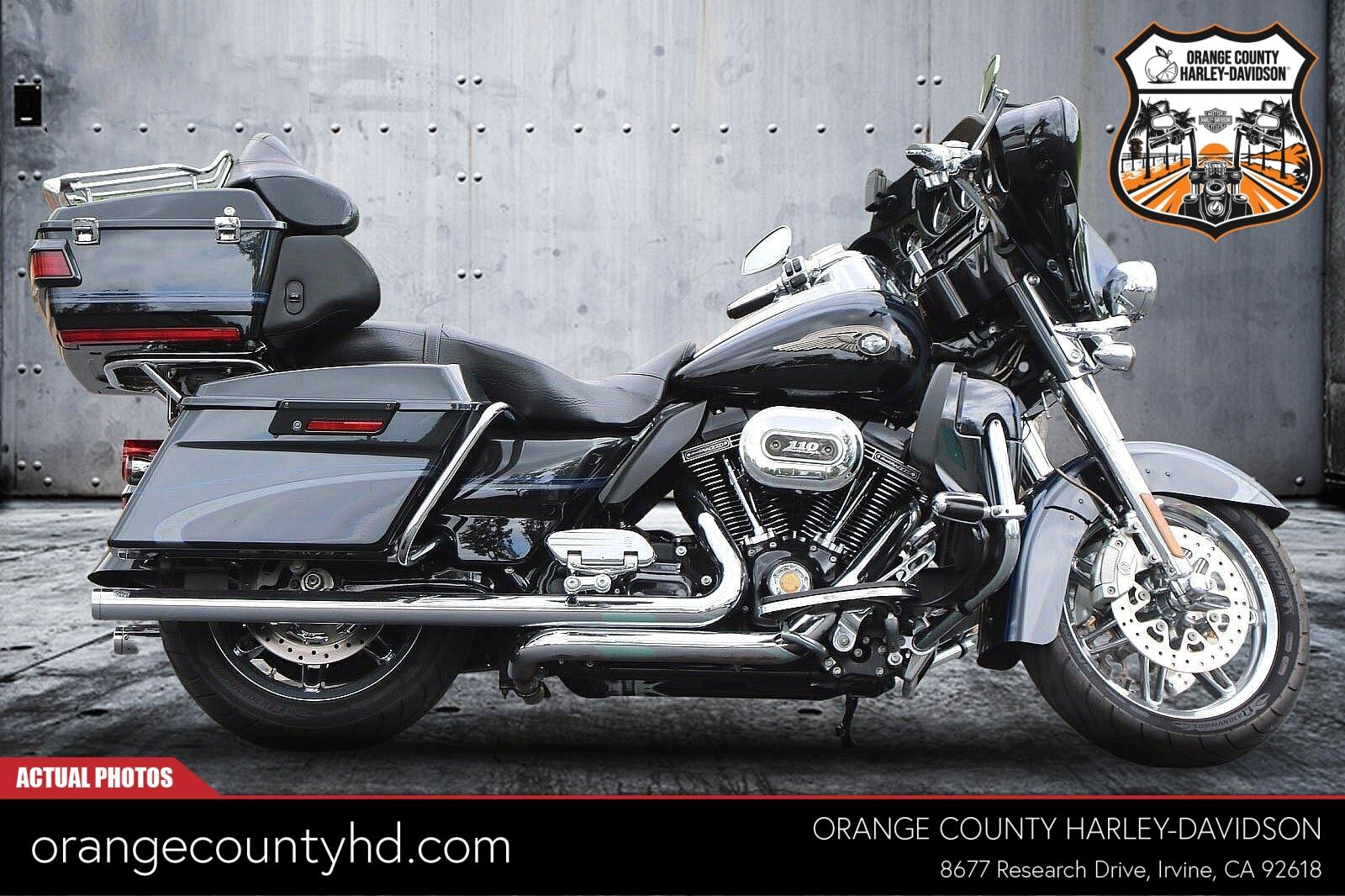 2013 Harley-Davidson FLHTCUSE8 [1]