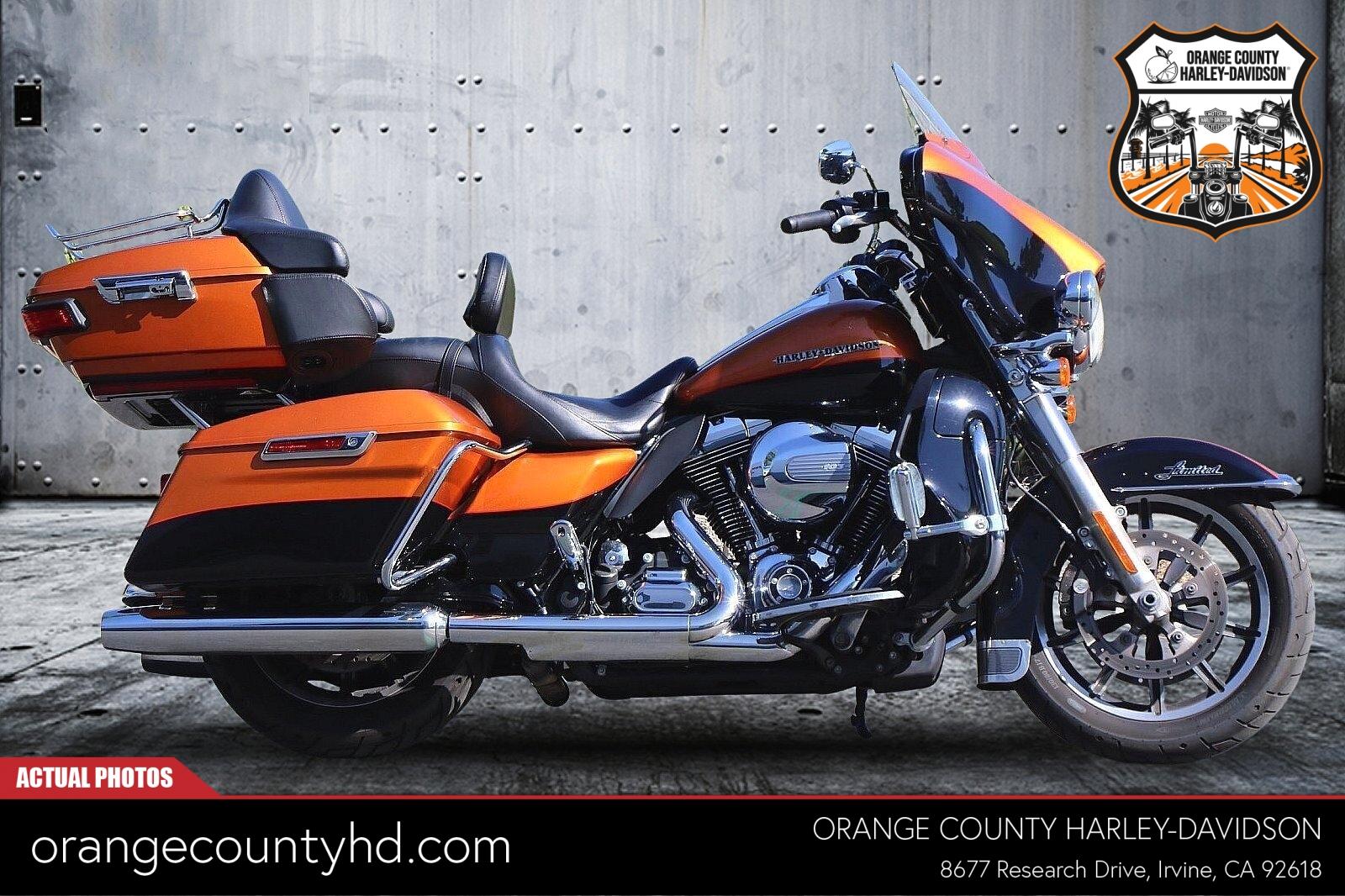 2015 Harley-Davidson Electra Glide Ultra Limited [32]
