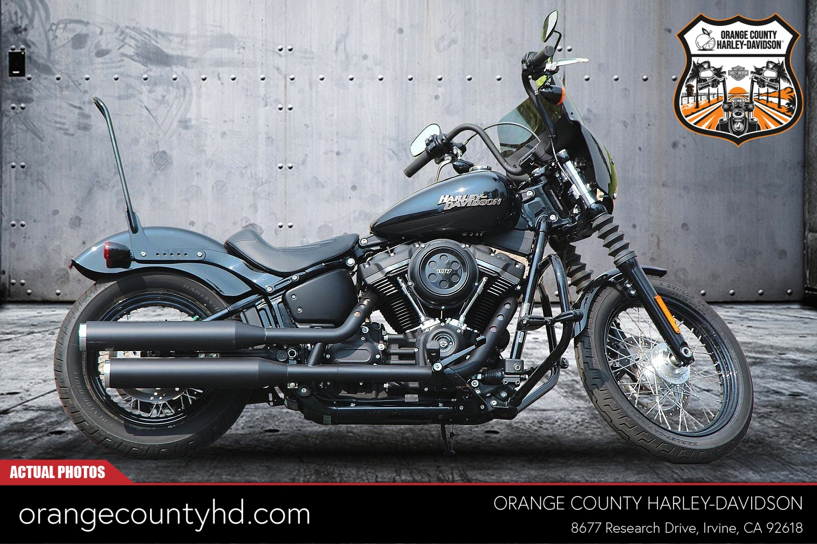 2019 Harley-Davidson Street Bob [48]
