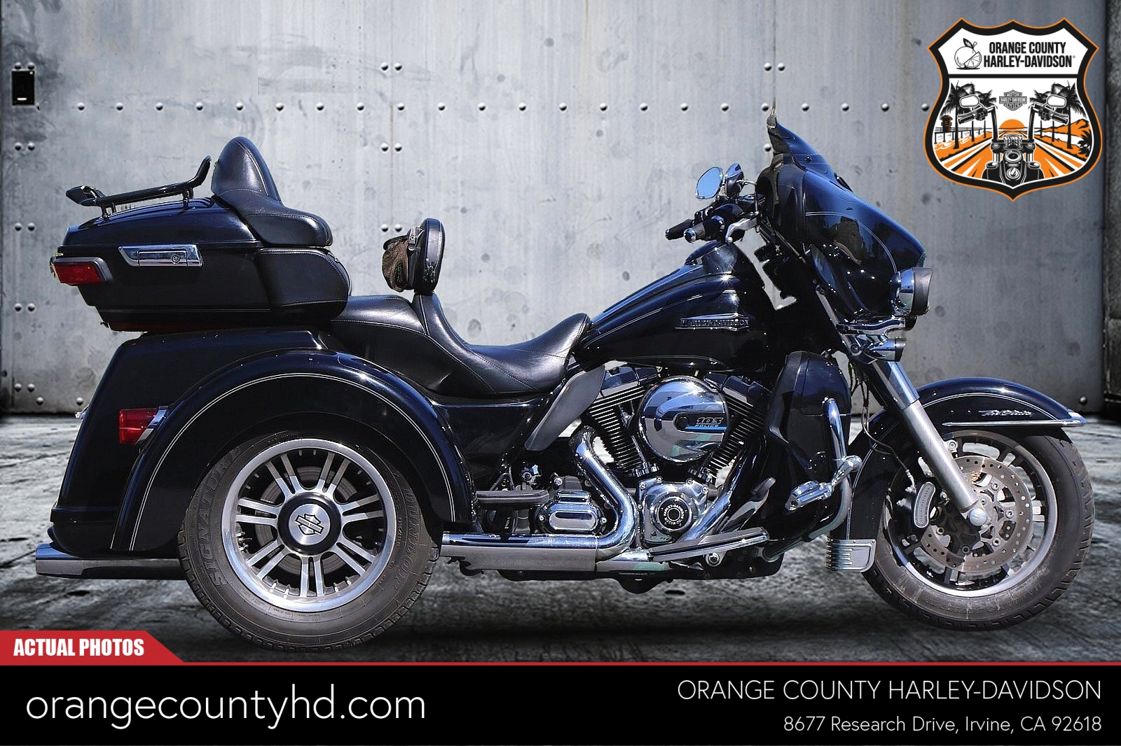 2014 Harley-Davidson Tri Glide Ultra [15]