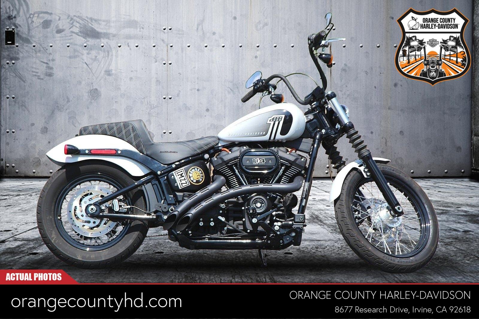 2021 Harley-Davidson Street Bob 114 [4]