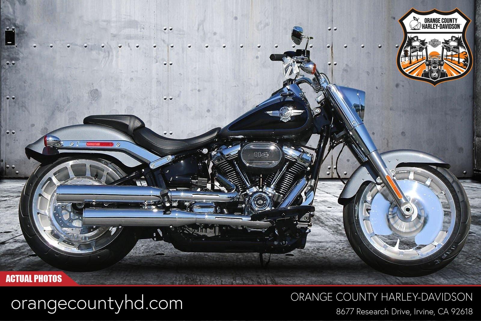 2021 Harley-Davidson Fat Boy 114 [81]